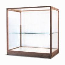 Houten vitrine op maat