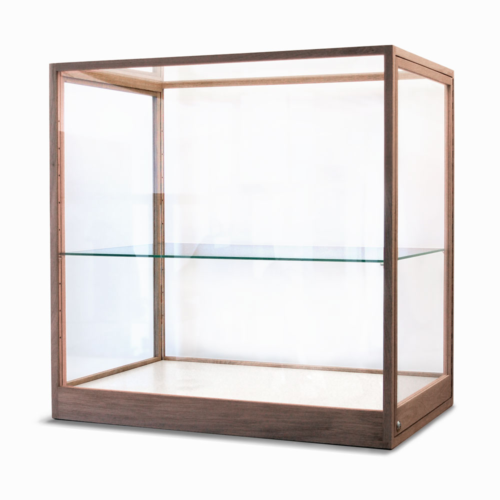 Houten vitrine op maat these sides up for Ikea vetrine in vetro