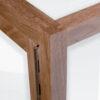 Houten vitrine detail